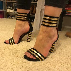 Jeffrey Campbell Shoes - Jeffrey Campbell Torres Ankle Strap Heels
